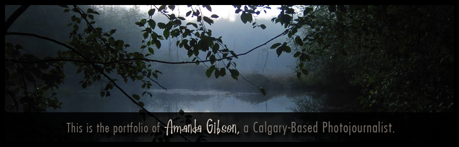 This is the portfolio of Amanda Gibson, a Calgary-based photojournalist.